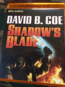 Shadow's Blade, by David B. Coe, audio book