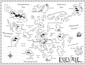 Map of Islevale