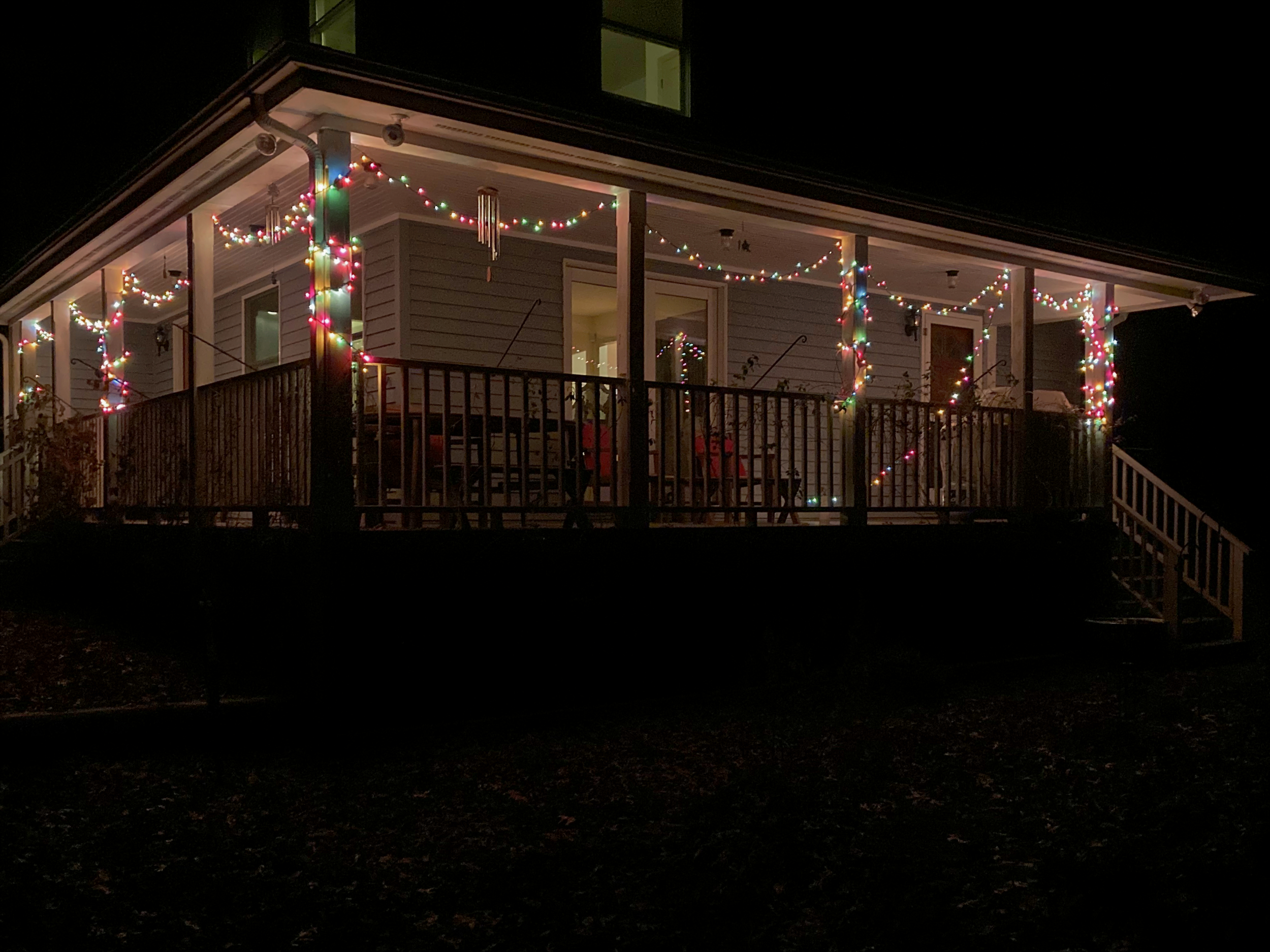 Christmas Lights on the House, by David B. Coe