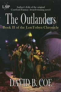 The Outlanders, by David B. Coe (jacket art by Romas Kukalis)